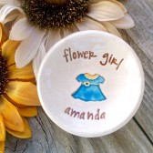 Flower Girl Ring & Trinket Bowl