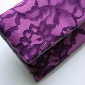 Radiant Orchid Amelia Clutch