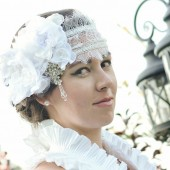 Chantilly Lace Cap / Headband