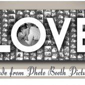 Photo Booth Love Canvas