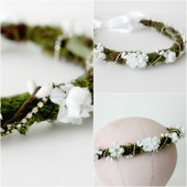 Woodland Floral Crown
