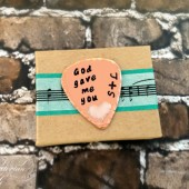 Guitar Pick Gift for Groom