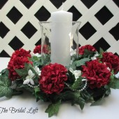 Wedding Table Centerpiece (can be custom made in your colors)