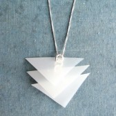 Silver UpCycled Necklace