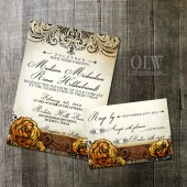 Rustic Succulent Wedding Stationery