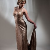 Sequin Glamour Gown