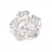ROSE CRYSTAL BUTTONS 703
