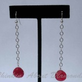Red Red Wine Earrings
