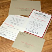 Valentine Wedding Invitation