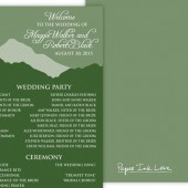 Green Mountain Program / Menu