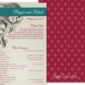 Red and Teal Program