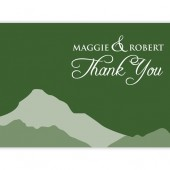 Mountain Thank You Cards