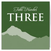 Green Mountain Table Numbers