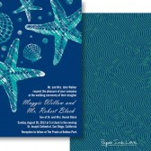 Starfish Beach Invitations