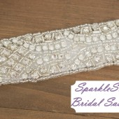 SparkleSM Bridal Sashes - Eleanor