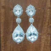 Meri Bridal Earrings