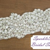 SparkleSM Bridal Sashes - Isabel