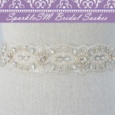 Courtney Bridal Sash