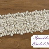 SparkleSM Bridal Sashes - Avery