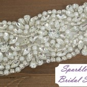 SparkleSM Bridal Sashes - Morgan