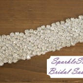 SparkleSM Bridal Sashes - Angelina