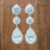 Tess Wedding Earrings