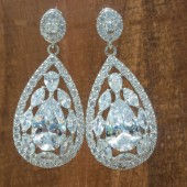 Lulu Statement Bridal Earrings