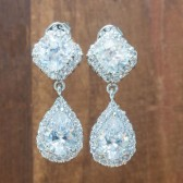 Mia Wedding Earrings