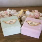 His and Hers Love Birds Ring Boxes