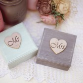 Painted Mr and Mrs Set