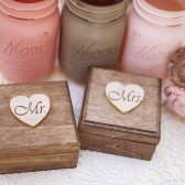 Stained Mr and Mrs Set