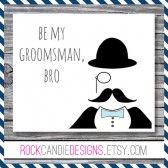 Will You Be My Groomsman Bro Let's Plan My Bachelor Party Card