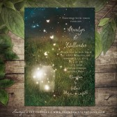 PRINTABLE Rustic Garden Lights Wedding Invitation, Mason Jar Firefly Wedding Invite, Summer Wedding Invitation, Garden Wedding