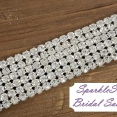 Ryan Bridal Sash - SparkleSM Bridal Sashes