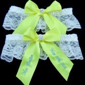Pineapple Wedding Garter Set