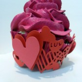 Hearts Cupcake Wrapper