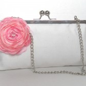 Brides wedding clutch