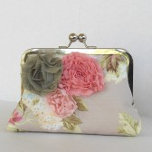 Shabby Chic bridesmaids clutch