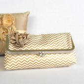 Gold Brides clutch