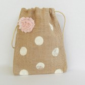 Blush and Burlap bag