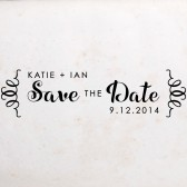 Stamp Your Own Save the Date, DIY