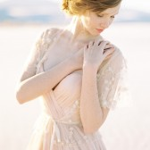 Style 418 - Blush Flower Bridal Cover up