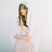 Style 404 - Embroidered Cotton Veil