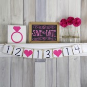 Save the Date Wedding Banner