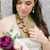 Custom Bridal Necklace - Father Memorial For Wedding - Bridal Scarf