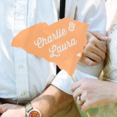 State Couples Sign - Customizable