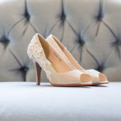 Gold Bridal Heel