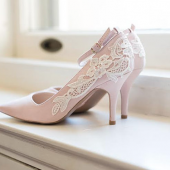 Blush Bridal Heel