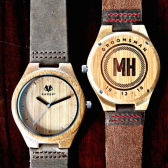 Personalize Wooden Watch