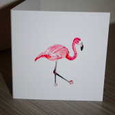 Flamingo Splash Gift Enclosure